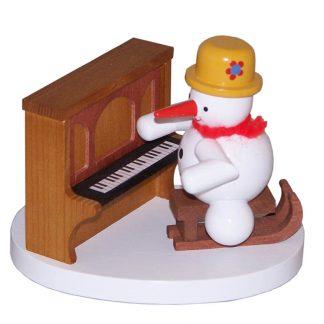 Schneemann Klavierspieler-0