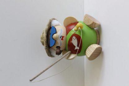 Kugelräucherfigur Hobby - Angler-8358