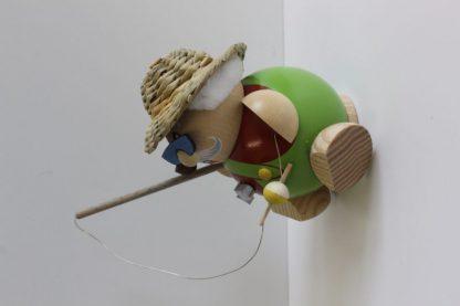 Kugelräucherfigur Hobby - Angler-8357