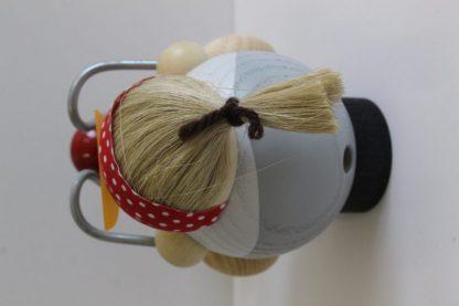 Kugelräucherfigur Bikerbiene-8370