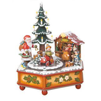 Musikdose Weihnachtszeit Spieluhr Spieldose-0