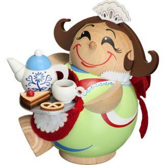 Kugelräucherfigur Schokoladenmädchen-0