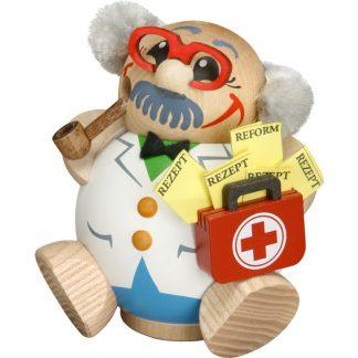 Kugelräucherfigur Arzt-0