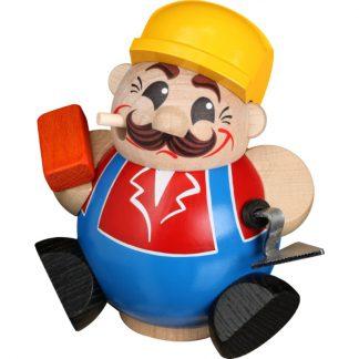 Kugelräucherfigur Bauarbeiter-0