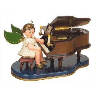 Engel - Klavier mit Spielwerk-0