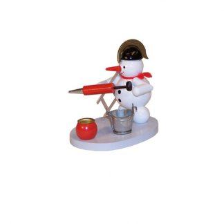 Kerzenhalter Schneemann Feuerwehr-0