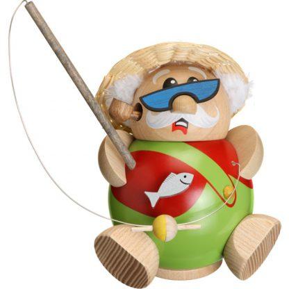 Kugelräucherfigur Hobby - Angler-0