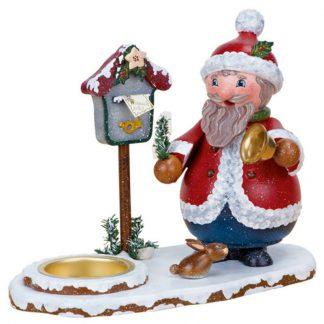Räuchermann Weihnachtsmann mit Teelicht-0