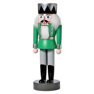 Nussknacker König grün-0