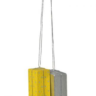 """Baumbehang """"Pakete gelb/silber""""-0"""