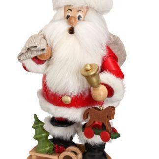 Räuchermann Weihnachtsmann mit Geschenke-0