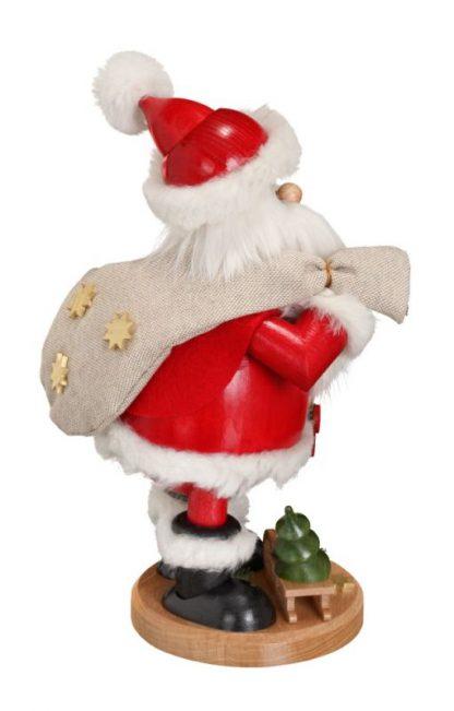 Räuchermann Weihnachtsmann mit Geschenke-10871