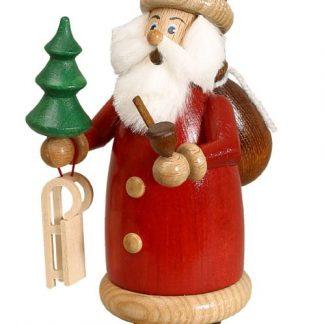 Räuchermann Weihnachtsmann Rot klein-0
