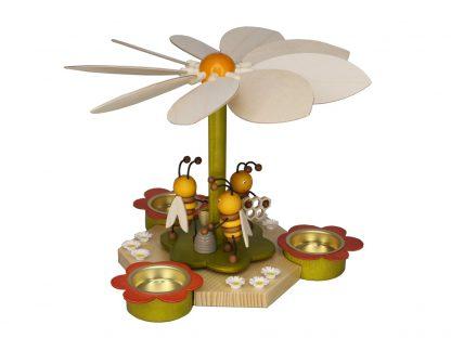 Frühlingspyramide mit Bienen-0