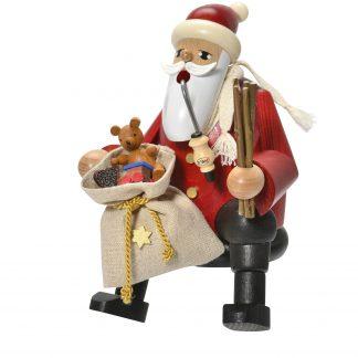 Räuchermann Kantenhocker Weihnachtsmann-0