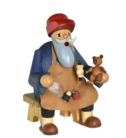 Räuchermann Teddymacher, sitzend-0