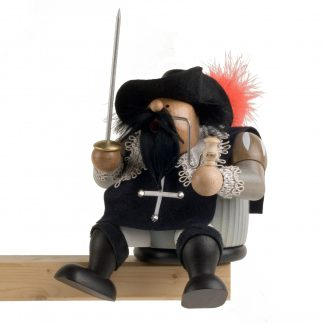 "Räuchermann Kantenhocker Musketier ""Athos""-0"